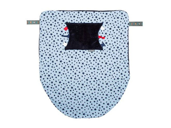 Coperta passeggino double face stelle Cheeky Chompers